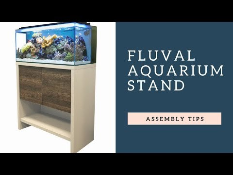 Fluval Aquarium Stand Assembly:  Tips And Tricks