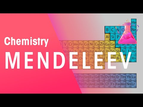 Mendeleev and the Periodic Table | Chemistry for All | The Fuse School