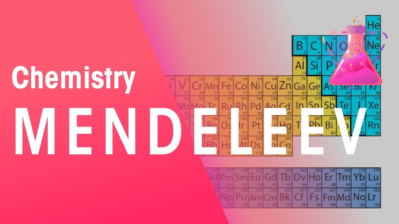 Mendeleev And The Periodic Table Chemistry For All The Fuse