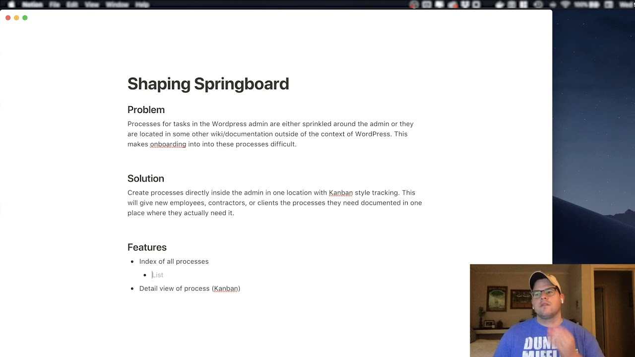 Wordpress in Elm: Shaping SpringBoard - DEV Community