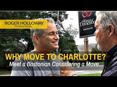 Why is Everyone Moving to Charlotte from Boston MA
