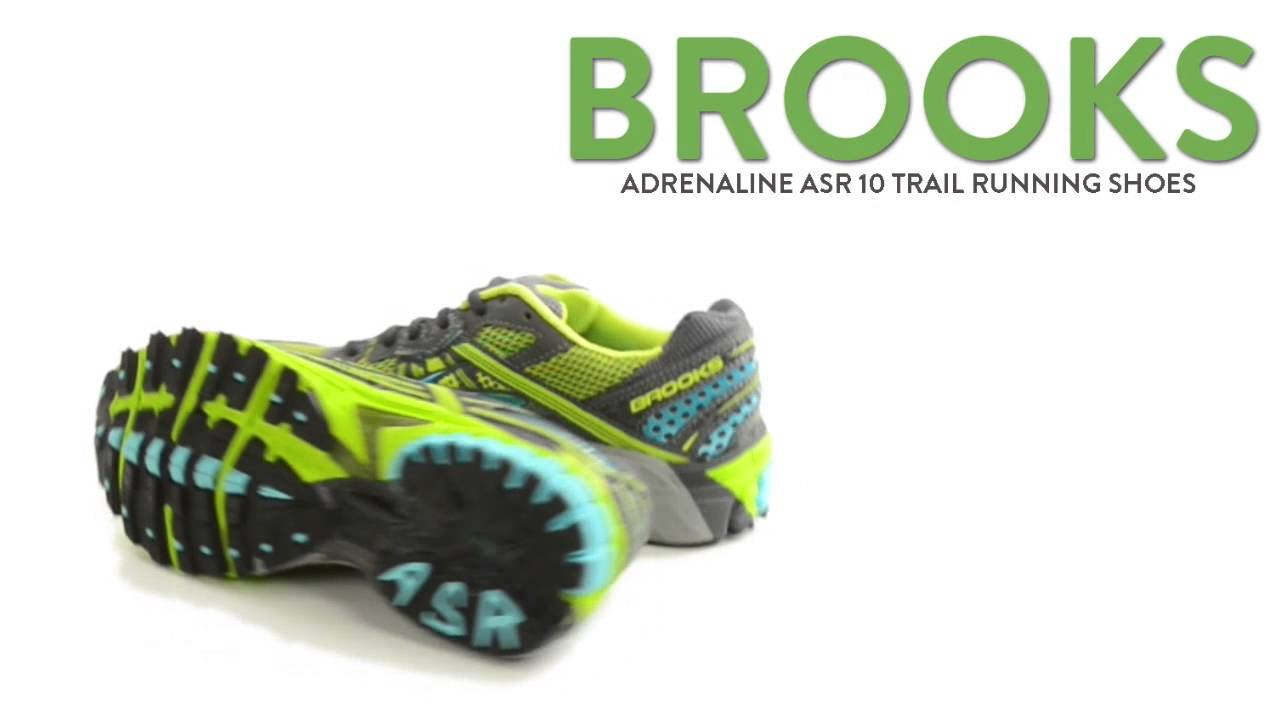 690451306ed0 Brooks Adrenaline ASR 10 Trail Running Shoes (For Women) - YouTube