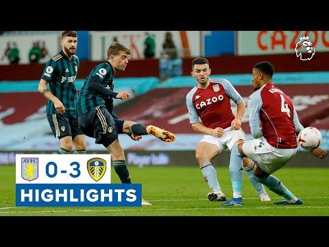 Highlights | Aston Villa 0-3 Leeds United | 2020/21 Premier League