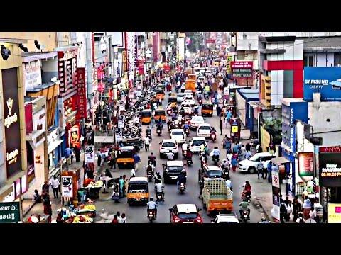 Walk and View Coimbatore City, Gandhipuram Busstand Coimbatore, Mg T v
