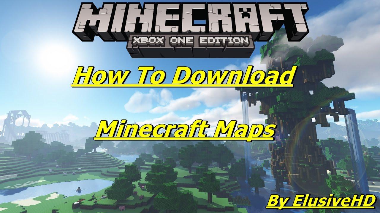 xbox one minecraft adventure map download