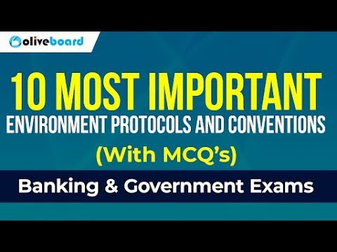 Important Environment Conventions with MCQs | General Awaren