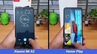 Xiaomi Mi A2 vs Honor Play Speedtest Comparison (SD 660 vs Kirin 970)