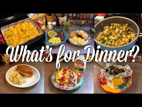 What's For Dinner?  Easy Family Meal Ideas  May 6-12, 2019