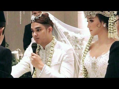 Prosesi Akad Nikah Pasangan Deryl Dan Erica Putri, Kakak Dari Citra Kirana.