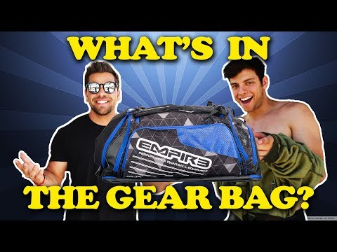 WHAT'S IN THE BAG!  Ep. 3 ft. Anthony Trujillo at Hollywood Sports Park!