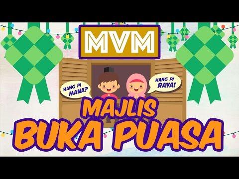 Majlis Berbuka Puasa MVM & RUSA 2016 (Hang Pi Mana? Hang Pi Raya!)