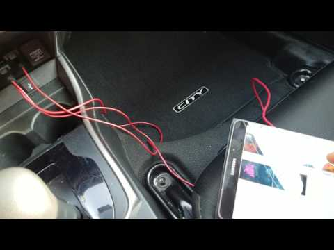 Honda City y HRV HDMI mirror
