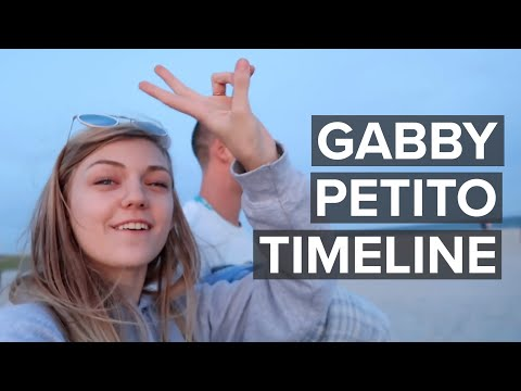 Gabby Petito: Timeline of fateful cross-country trip