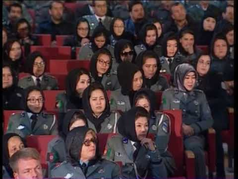 "President Ghani's speech at the ""10th graduation ceremony of Afghan Police Forces"""