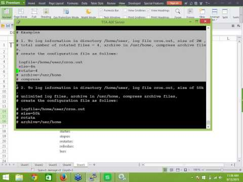 IBM AIX server administration training in chennai-TTA-Services and Process