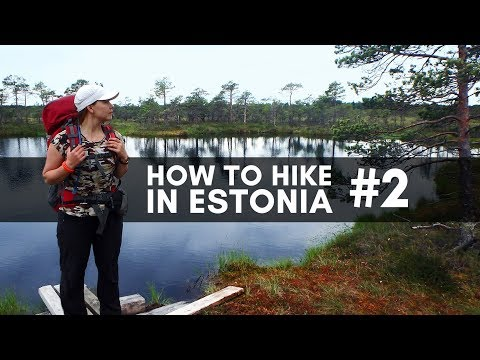 HOW TO HIKE IN ESTONIA #2 // Wildlife, restocking on the trail and emergencies