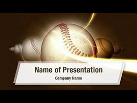 Baseball Powerpoint Templates - Baseball Powerpoint Backgrounds