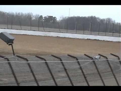 Brandon Morin Non-Wing Sprint Practice Clay County Speedway 03-17-12.wmv