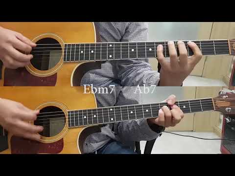I Wish (Stevie wonder) Acoustic guitar(with Chord)