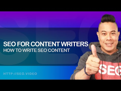 ▷ Google Ranking Factors: SEO for Content Writers 101 | SEO Copywriting | How To Write SEO Content