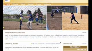 Shutterfly Team Sites:  How to Add Pages, Content, and new editors