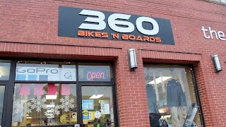 360 Bikes n' Boards Inside New Store Tour