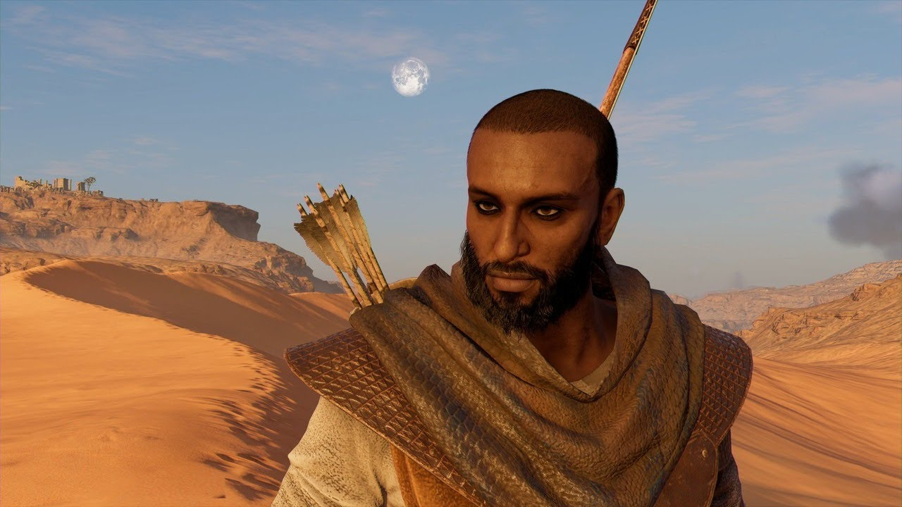 Assassin S Creed Origins Secret How To Change Bayek S Hair