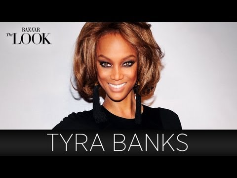 THE LOOK : Tyra Banks Talks Modeling and Fashion | Harper's Bazaar The Look S2.E1
