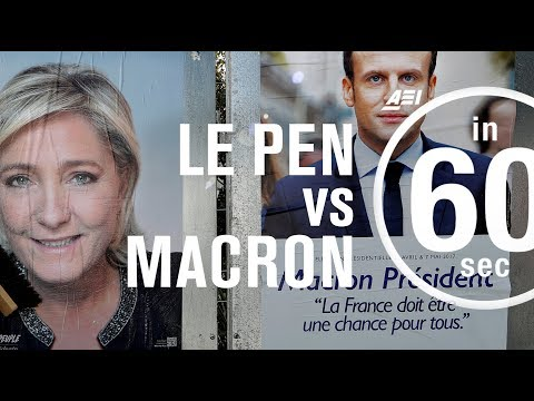 Le Pen vs Macron: French Election 2017 | IN 60 SECONDS