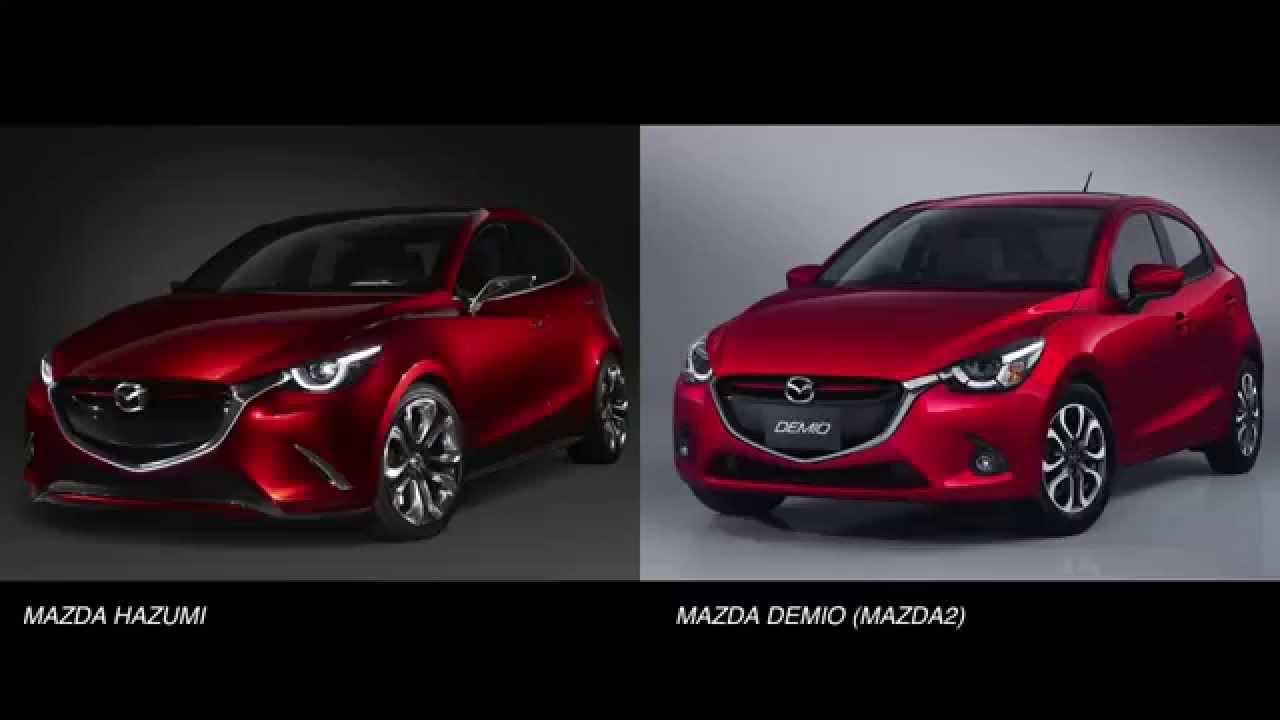 跳 Hazumi Vs 新型demio Mazda Hazmi Vs 2015 Mazda2 Youtube