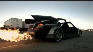 Otis Jay Z And Kanye West Mutilate Maybach Mercedes Shooting Brake Approved 2013 Dodge Viper