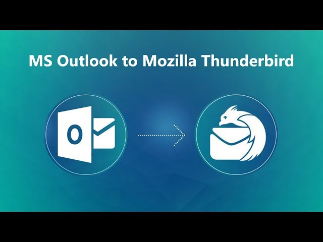 Outlook to Thunderbird Migration – Best PST to MBOX