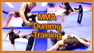 MMA & Taekwondo Training on Century Dummy | Martial Arts Kicks