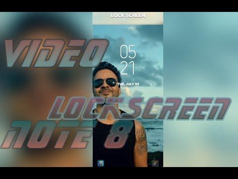 Video Lockscreen on Note 8 Oreo