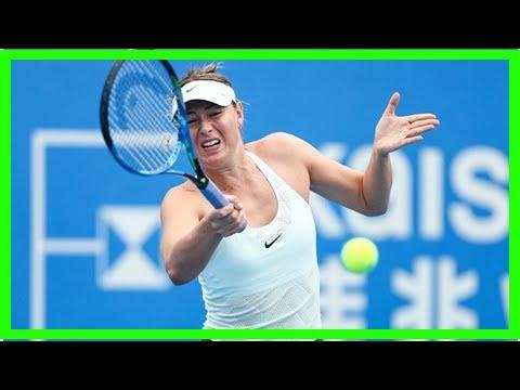 Maria Sharapova saw off Zarina Diyas in Shenzhen opened   Daily Mail online