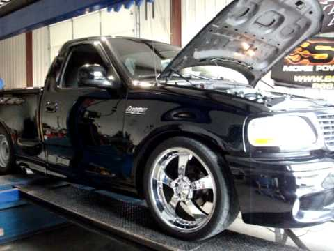 Ford Lightning with Magnum Powers Supercharger and OBX Headers 1