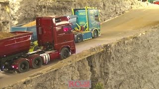 4. Advent R/C meeting with trucks and construction machines at RCTKA part 4