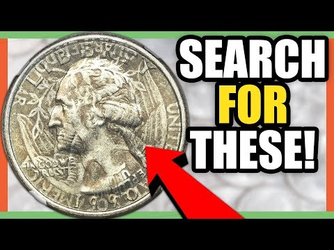 6 VALUABLE QUARTERS TO LOOK FOR - RARE QUARTER COINS WORTH MONEY!!