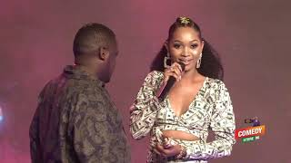 Alex Muhangi Comedy Store Aug2019 - Basketmouth Spice Diana Gets 20Million at Comedy Store Uganda