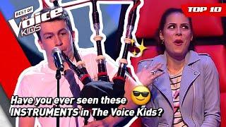 Unique Surprising Instruments In The Voice Kids Top 10 MP3