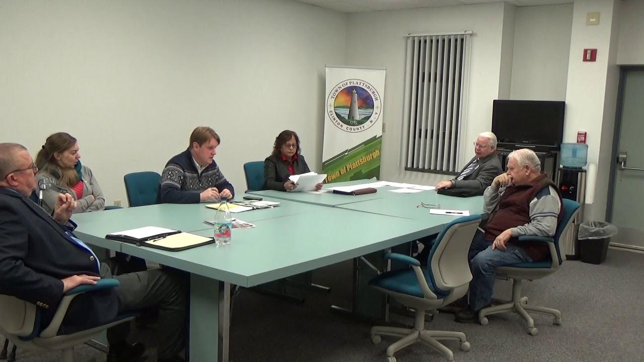 Town of Plattsburgh Meeting  2-28-19