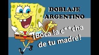 Bob Esponja - Doblaje argentino (Fedebpolito)
