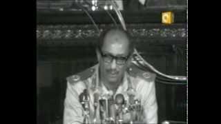 بالفيديو .. تعرف علي الكلمات التي ألقاها الرئيس السادات أثناء حرب أكتوبر
