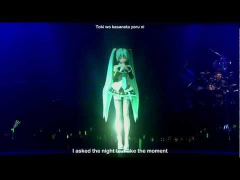 Hatsune Miku - SPiCa ~ Project DIVA Live Solo Japan Concert 2010 HD. eng subs
