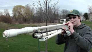 Repeat youtube video Homemade  Air powered Sniper Rifle