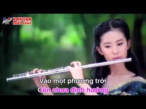 Karaoke [TAN CO] Lỡ chuyến đò tình - song ca Xakura