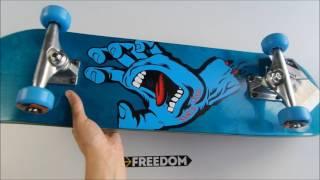 Santa Cruz 8.0 Screaming Hand Reg Sk8 Complete Kay