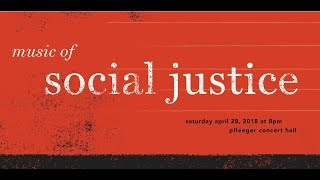 Rowan University: Music of Social Justice - Wind Ensemble and Concert Choir 4/28/18