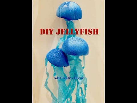 DIY Jellyfish Decor