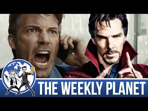 Doctor Strange Spoiler Review & Batman Woes- The Weekly Planet Podcast